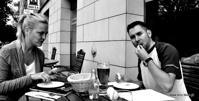 Seg & Kriz w restauracji